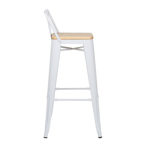 sgabello con schienale sgabello alto con schienale lix legno sklum italia