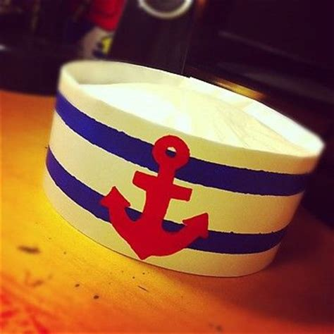 How To Make A Sailor Hat Out Of Paper - o connell coffee and poster on