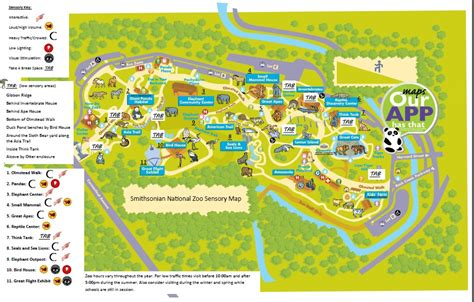 national zoo map national zoo map map3