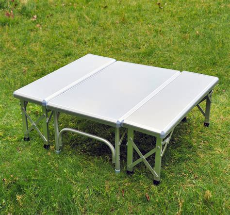 outdoor folding bench seat aluminum folding picnic table bench seat portable outdoor