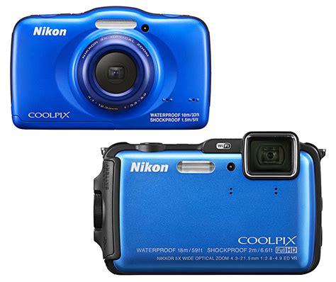 Kamera Nikon S32 zwei wasserdichte kompaktkameras nikon fotointern ch