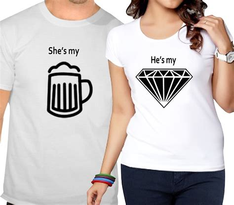 T Shirts For Couples And T Shirts