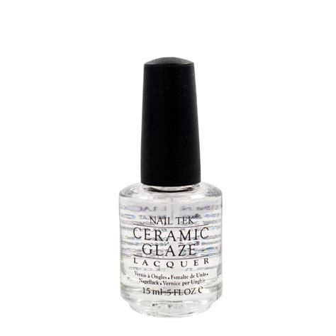 protective top coat nail tek ceramic glaze protective durable no chip top coat