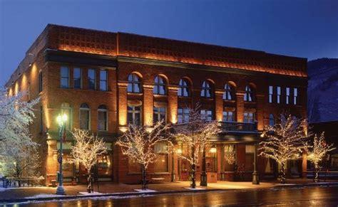 best hotels in aspen colorado the top five luxury hotels in aspen co