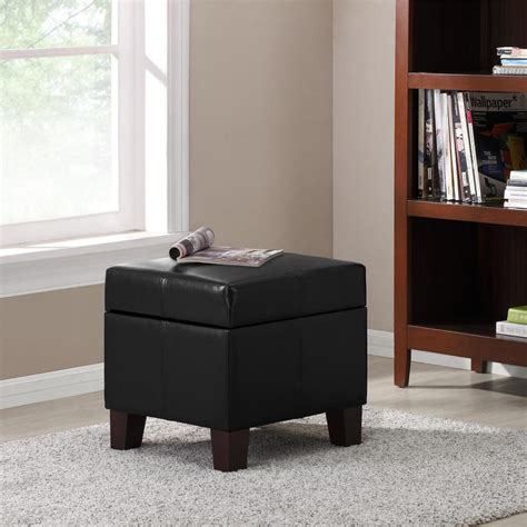 dorel living storage ottoman dorel living black small storage ottoman fa3053b dke the