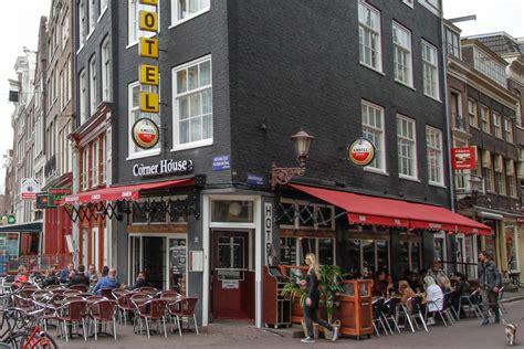 Hotel Caf 233 Restaurant Corner House Dans Le Centre D Amsterdam Les Pays Bas Accueil