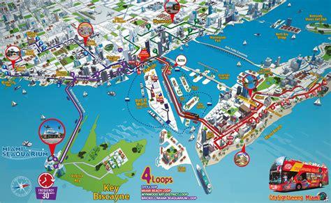 of florida cus map pdf city sightseeing miami hop on hop tour miami