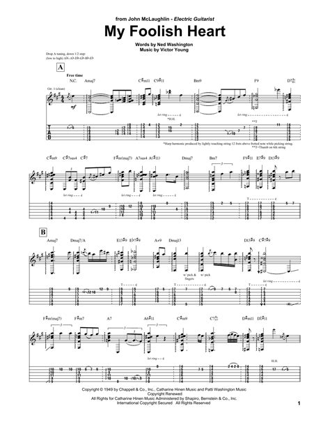 my chords my foolish guitar tab by mclaughlin guitar tab