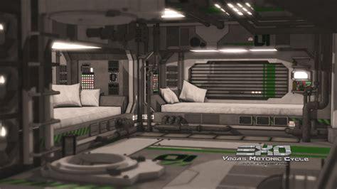 sci fi bedroom bunk bedroom by exo game on deviantart