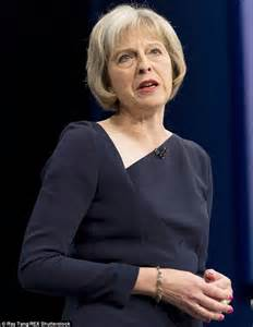 Tory home secretary theresa may delivered her statement on immigration