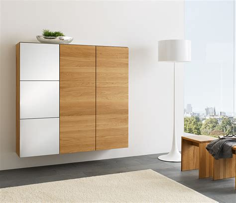 Luxury hallway cabinets   TEAM 7 Cubus   Wharfside Furniture