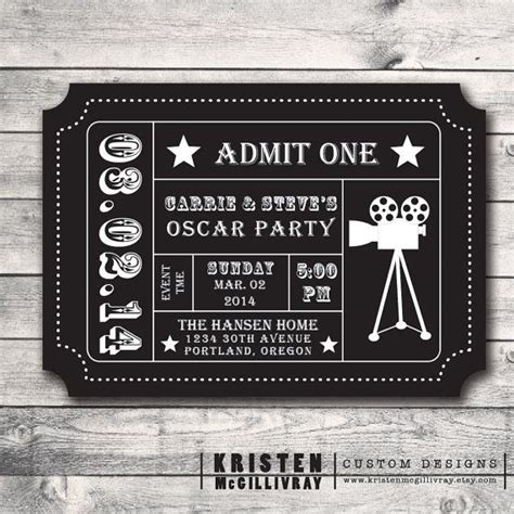 ticket stub invitation template 25 unique admission ticket ideas on ticket