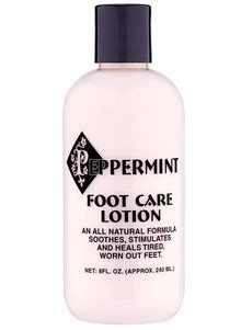 Jafra Foot Care Pappermint Foot Balm peppermint foot care lotion drleonards