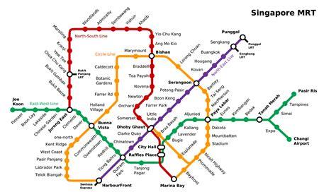 membuat visa di singapura peta wisata dan cara naik mrt di singapore tips liburan