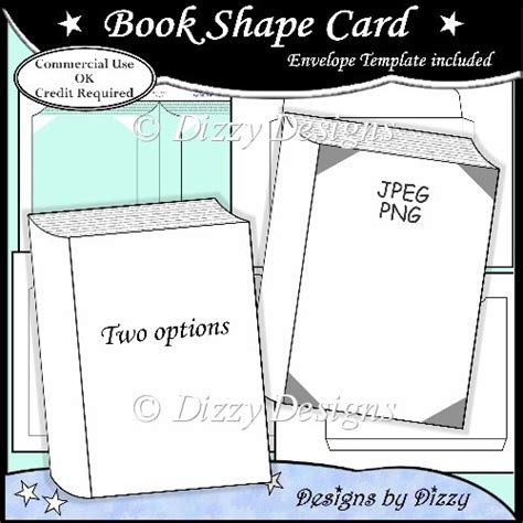 template shapes for cards book shape card template 163 3 00 instant card