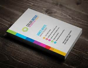 colors for business cards ultimate collection of business cards design 26 exles