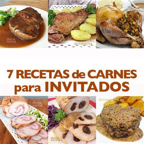 recetas de cocina de carnes 7 recetas de carne para invitados divina cocina