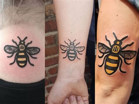 people getting tattoos this is why are getting bee tattoos