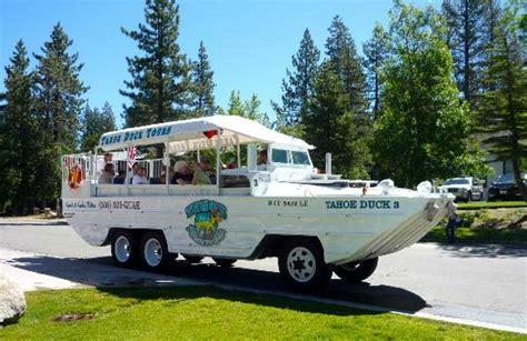 tahoe tour boats tahoe duck tours south lake tahoe ca address phone