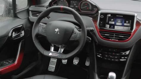 peugeot 208 gti inside peugeot 208 gti interior wallpaper 1280x720 21232