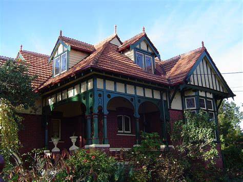 queen anne house style file queen anne style house in ivanhoe victoria jpg