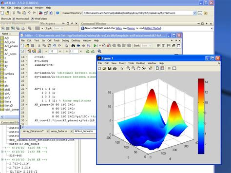 find pattern in image matlab 3d array factor of a 4x4 planar array antenna file