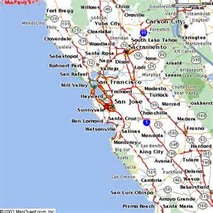 map of cupertino california apple headquaraters