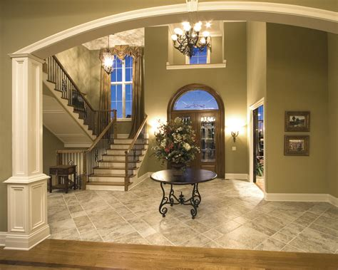 Foyer In A House by Plantation Grove Luxury Home Plan 065s 0030 House Plans