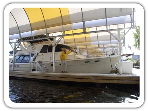 boat storage ventilation marina covers and boat storage fabric buildings