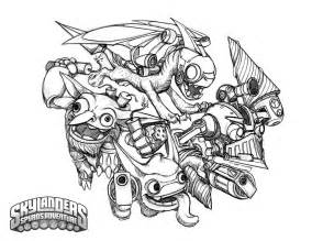 skylanders coloring page free coloring pages of trigger happy skylanders