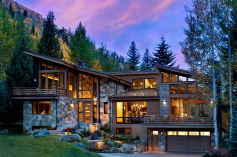 modern homes modern mountain house with breathtaking beauty decohoms