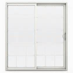 menards sliding patio doors jeld wen builders series 15 lite vinyl right sliding