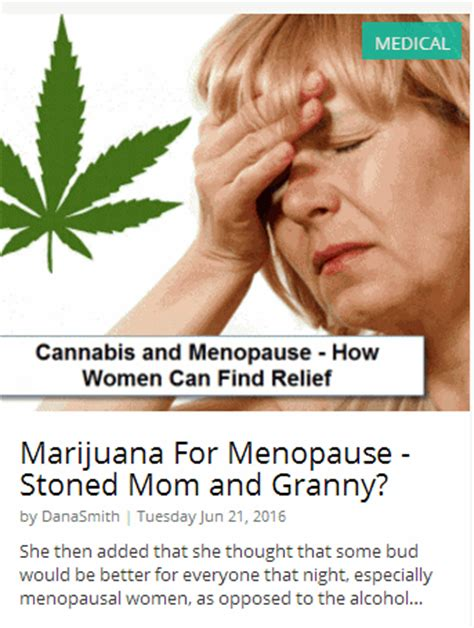 20 best images about menopause how does marijuana work for menopause