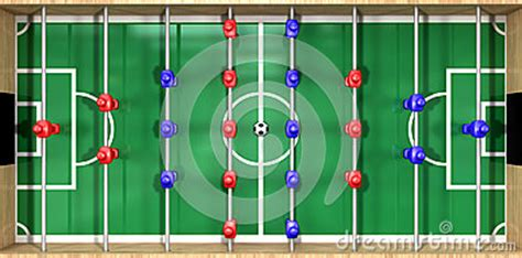 Foosball Table by Foosball Table Top View Royalty Free Stock Photo Image