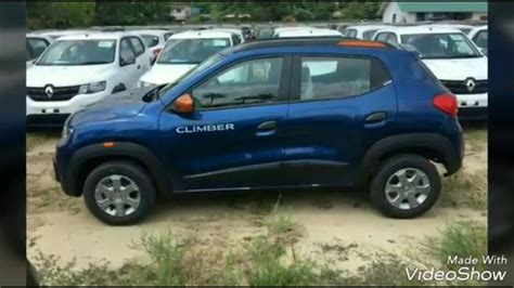 renault climber colours renault kwid climber first look march 2017 youtube