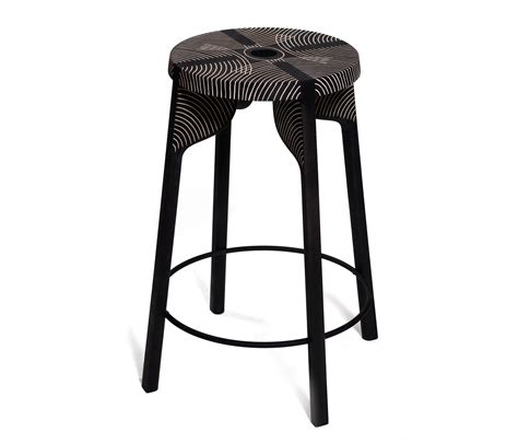 tattoo stool bar stool carved bar stools from zanat architonic