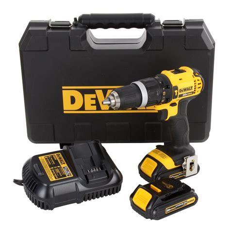 dewalt 20 volt max lithium ion compact hammer drill driver