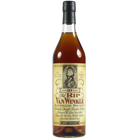 Rip Winkle Handmade Bourbon - rip winkle 10 year handmade bourbon the