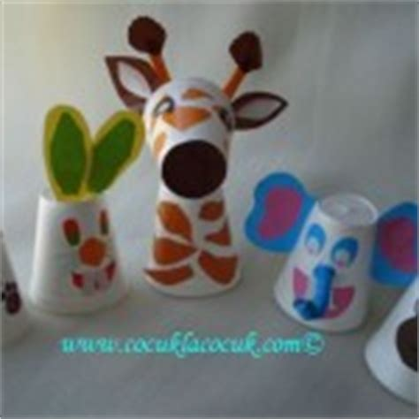Paper Cup Animals Craft - paper cup crafts for crafts and worksheets for