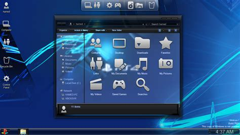 ps4 themes buy ps4 skinpack for win 7 8 1 windows10 themes i cleodesktop