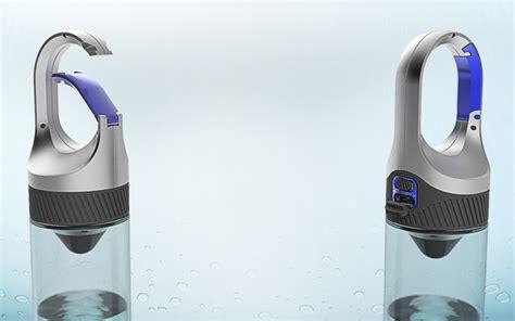 designboom water bottle dubai design week 2016 bottlelight purifies water