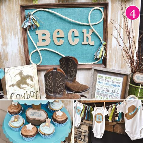 Western Baby Shower by Cowboy Themed Baby Shower A Experience Baby Shower Decoration Ideas