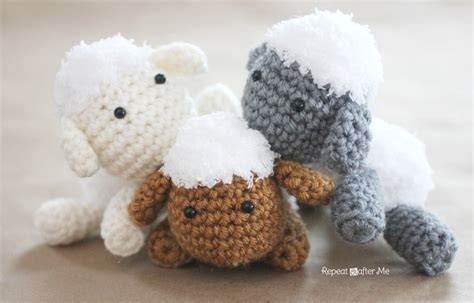 pattern mobile html crochet lamb pattern and baby mobile repeat crafter me
