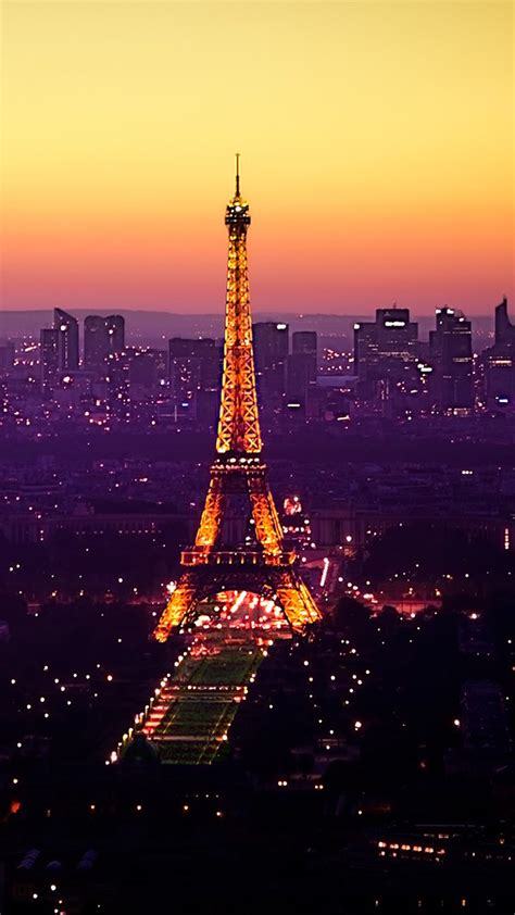 wallpaper galaxy paris night view of the eiffel tower in paris note 3 wallpapers