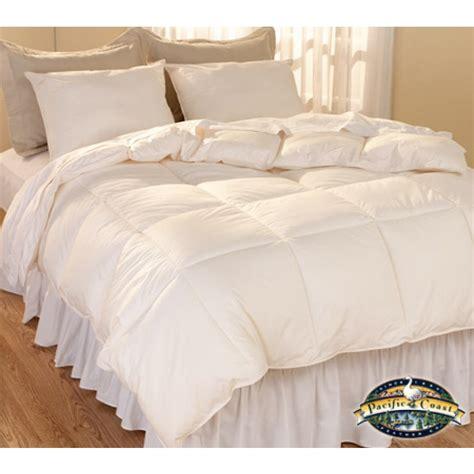 natural down comforter natural living luxury down alternative comforter bedding