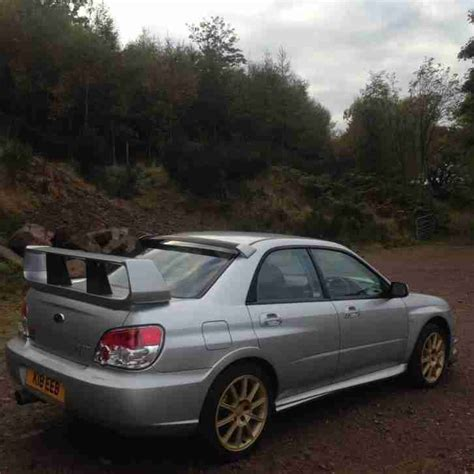 subaru hawkeye for sale subaru impreza wrx sti type uk 57 plate prodrive hawkeye