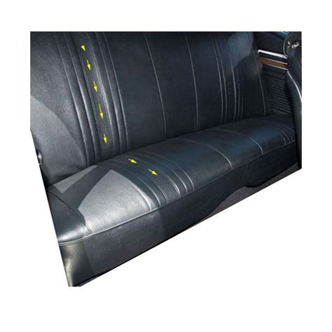 Pui Upholstery by Pui 69xs09c Rear Seat Upholstery Kit 1969 71 Blue