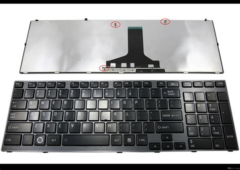 2017 genuine new laptop keyboard for toshiba satellite p750 p750d p755 p770 p775 black us nsk