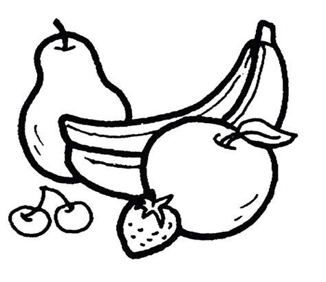10 mewarnai gambar buah buahan