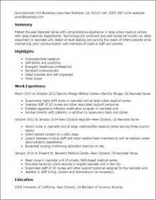 nurse resume nicu 1 - Nicu Nurse Resume Sample